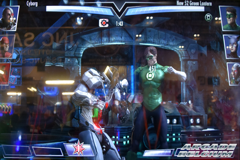 Injustice Arcade Eag18015b