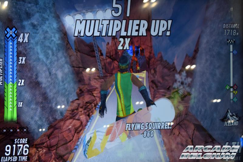 X Games Snow Boarder Eag18087b