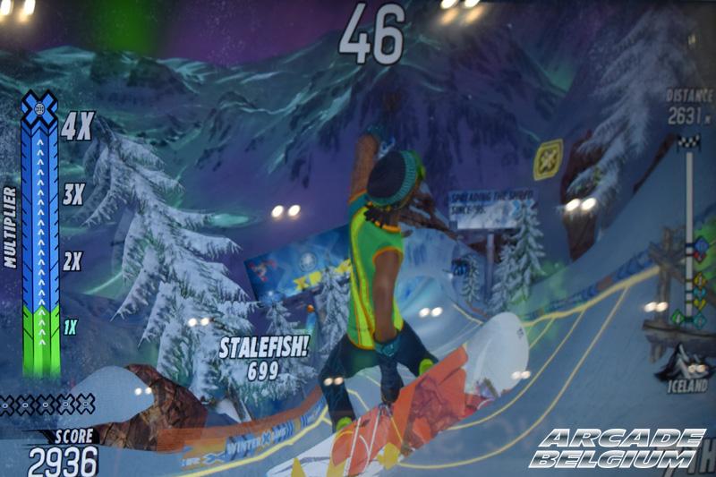 X Games Snow Boarder Eag18091b