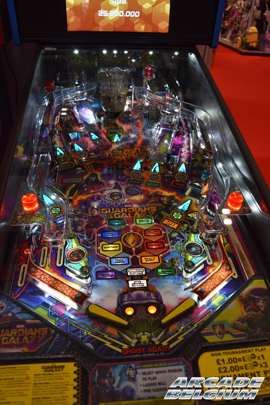 [Pinball] Guardians of the Galaxy Eag18132b