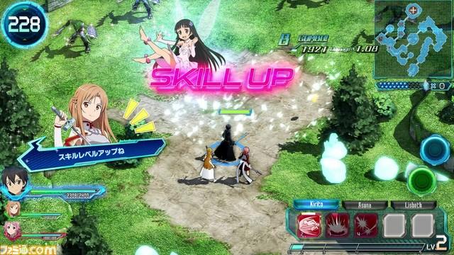 Sword Art Online Arcade: Deep Explorer  Saoac_18