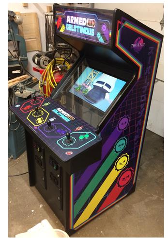 Armed and Gelatinous Arcade Edition Armedandgel_cab