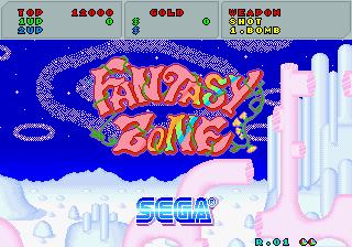 SEGA Classics (tentative name) Fantasy Zone Fantzone_03