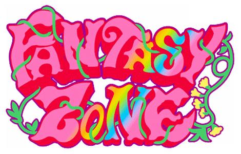 SEGA Classics (tentative name) Fantasy Zone Fantzone_logo