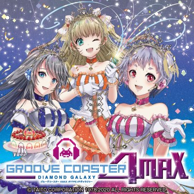 Groove Coaster 4MAX Diamond Galaxy Gc4max_01