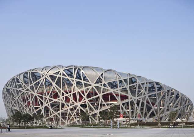 How to model this in REVIT [HELP] 1207041_Beijing_20National_20Stadium_202