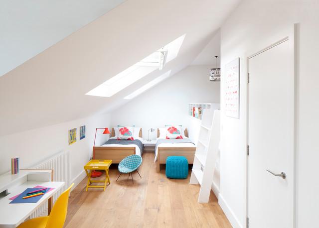غرف نوم اطفال 15-Stunning-Contemporary-Kids-Room-Designs-Your-Kids-Would-Love-To-Play-In-11