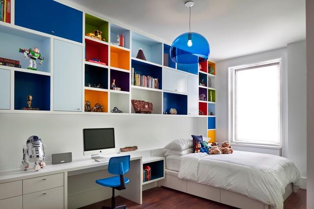 غرف نوم اطفال 15-Stunning-Contemporary-Kids-Room-Designs-Your-Kids-Would-Love-To-Play-In-12