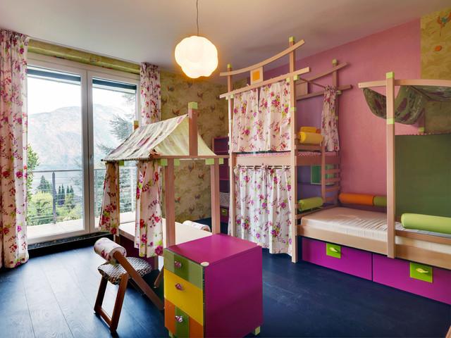 غرف نوم اطفال 15-Stunning-Contemporary-Kids-Room-Designs-Your-Kids-Would-Love-To-Play-In-14