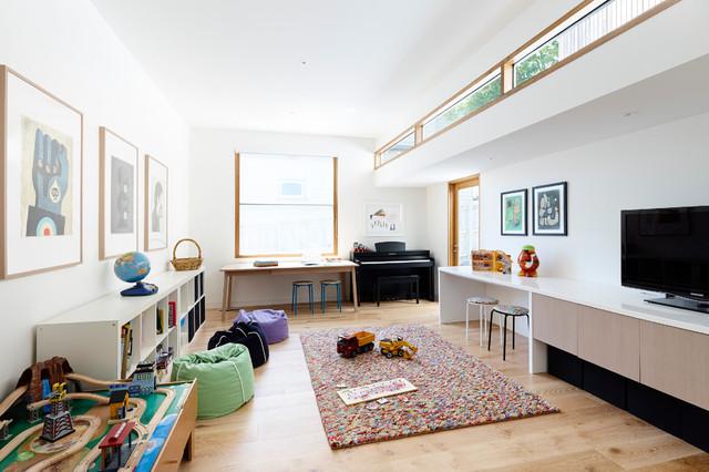 غرف نوم اطفال 15-Stunning-Contemporary-Kids-Room-Designs-Your-Kids-Would-Love-To-Play-In-3