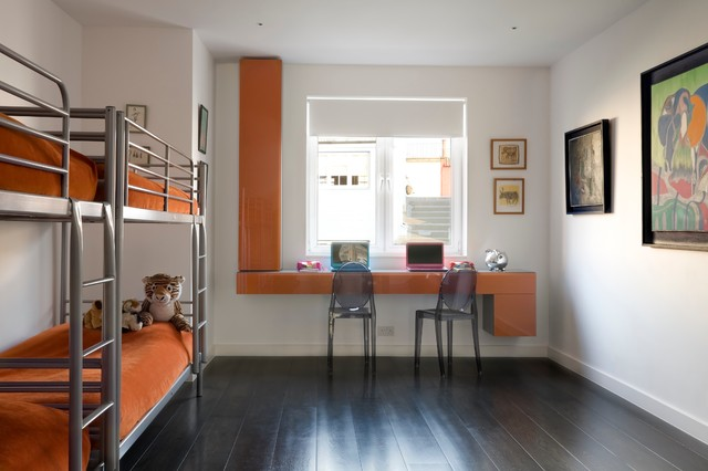 غرف نوم اطفال 15-Stunning-Contemporary-Kids-Room-Designs-Your-Kids-Would-Love-To-Play-In-4