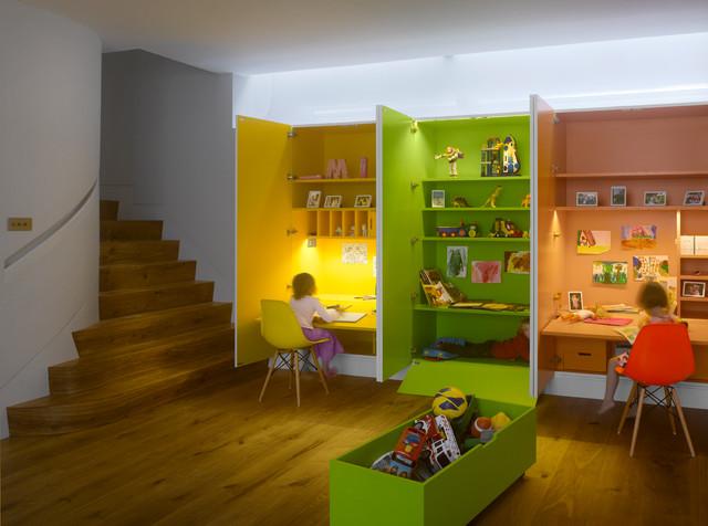 غرف نوم اطفال 15-Stunning-Contemporary-Kids-Room-Designs-Your-Kids-Would-Love-To-Play-In-5