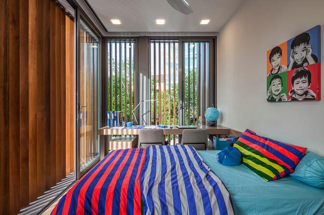غرف نوم اطفال 15-Stunning-Contemporary-Kids-Room-Designs-Your-Kids-Would-Love-To-Play-In-7