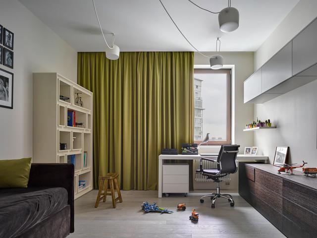 غرف نوم اطفال 15-Stunning-Contemporary-Kids-Room-Designs-Your-Kids-Would-Love-To-Play-In-8