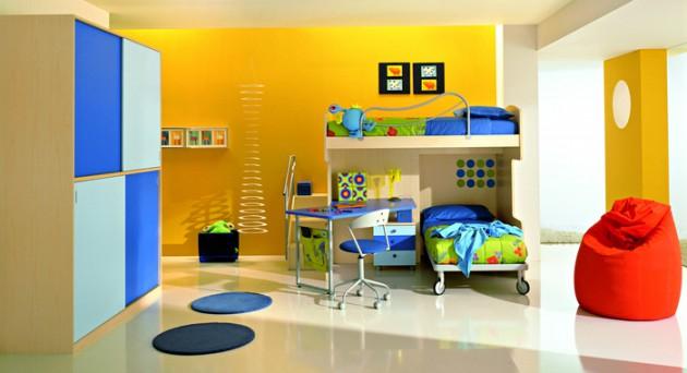 غرف نوم الاطفال 530-630x342