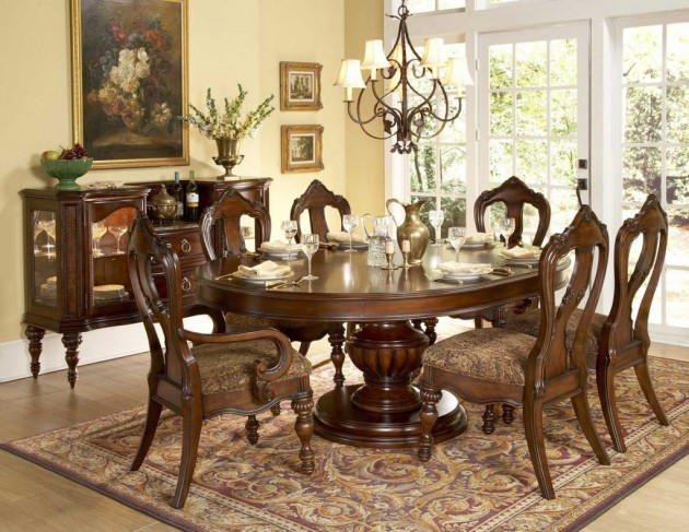 غرف طعام عصرية رائعة 531-630x487