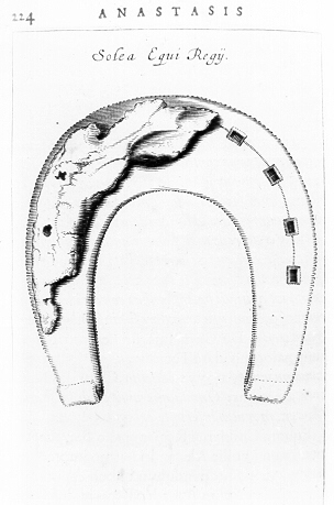le tombeau de chidèric et son trésor en 1655 Chi18