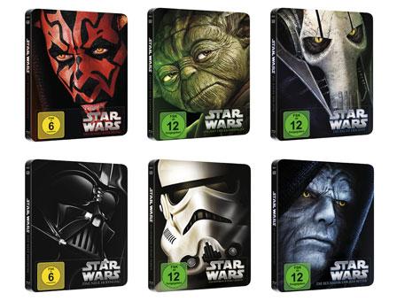 Originaltrilogie auf Bluray kommt Star-Wars-Blu-ray-Disc-Steelbooks