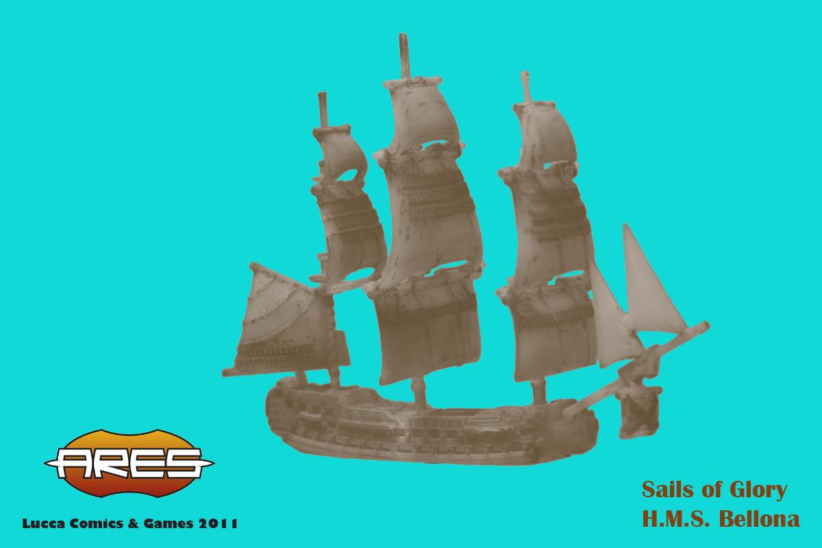 Sails of Glory  : le combat naval par les créateurs de Wings of War Bellona