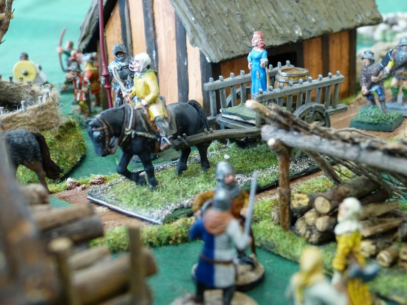 Deux ducs pour une couronne ...ou la guerre de Succession de Bretagne en raccourci ! P1040428