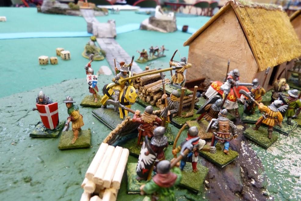 L'assaut d'une barricade à cheval LeSourn2014-26