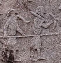 Anglo-Saxons contre Britto-romains Aberlemno2