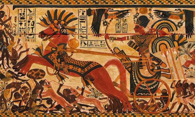 Chien de combat  Levriers-pharaon