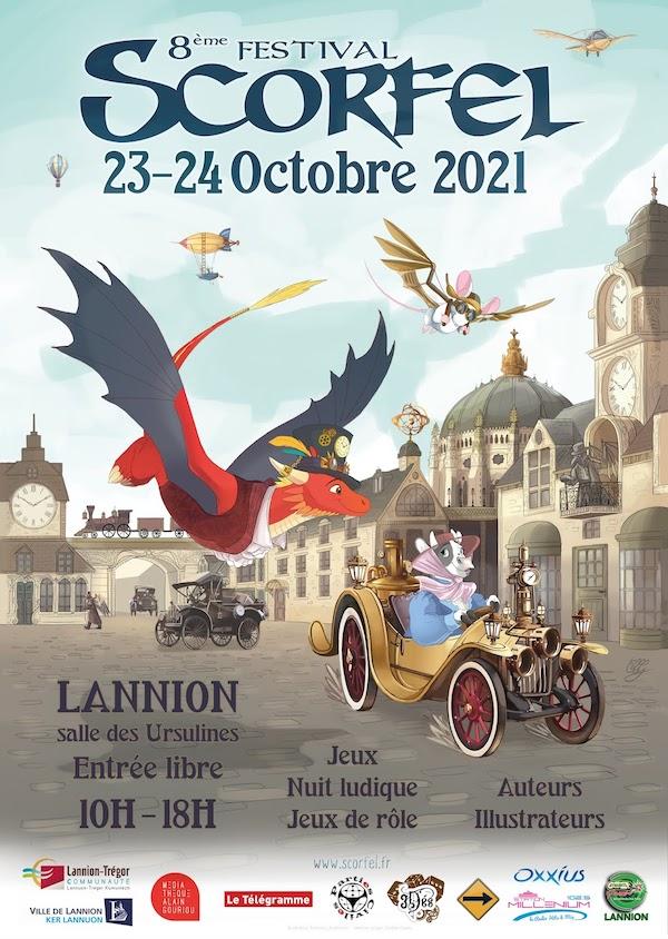 Festival Scorfel, Lannion 23-24 octobre 2021 Scorfel-2021