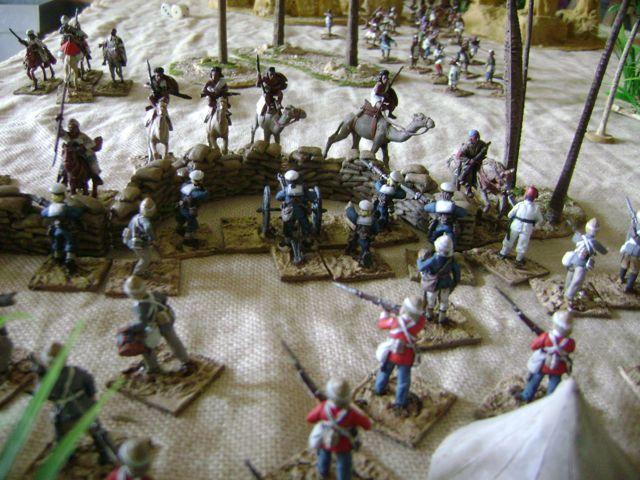 L'assaut d'une barricade à cheval Soudan-test1