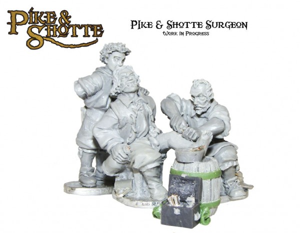 Chirurgien XVIIe Pike-Shotte-Surgeon