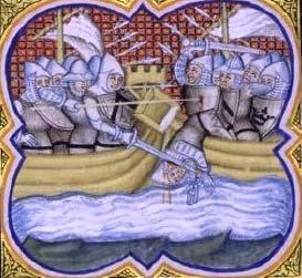 Coque playmobil pour nef médiévale Bataille-navale