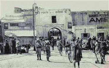 Porte de rempart nord-africaine Dorcasa6