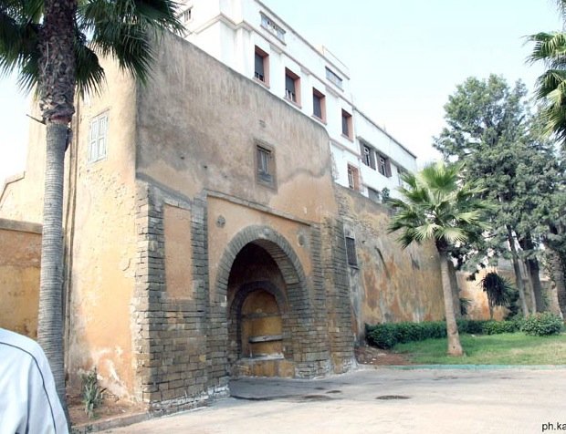 Porte de rempart nord-africaine Dorcasa8