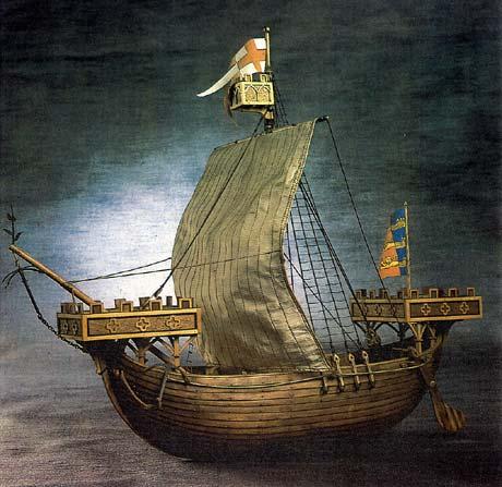 Coque playmobil pour nef médiévale English-cog