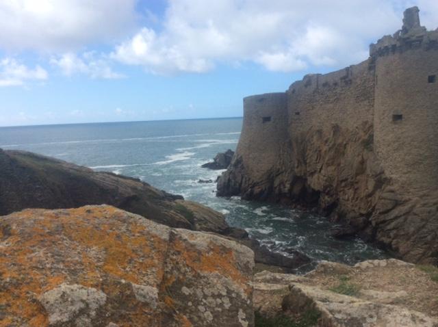 Le «Vieux Château » de l'île d'Yeu Iledyeu6