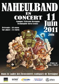 «Rencontres ludiques» à Brest les 10-11-12 juin 2011 Naheulband