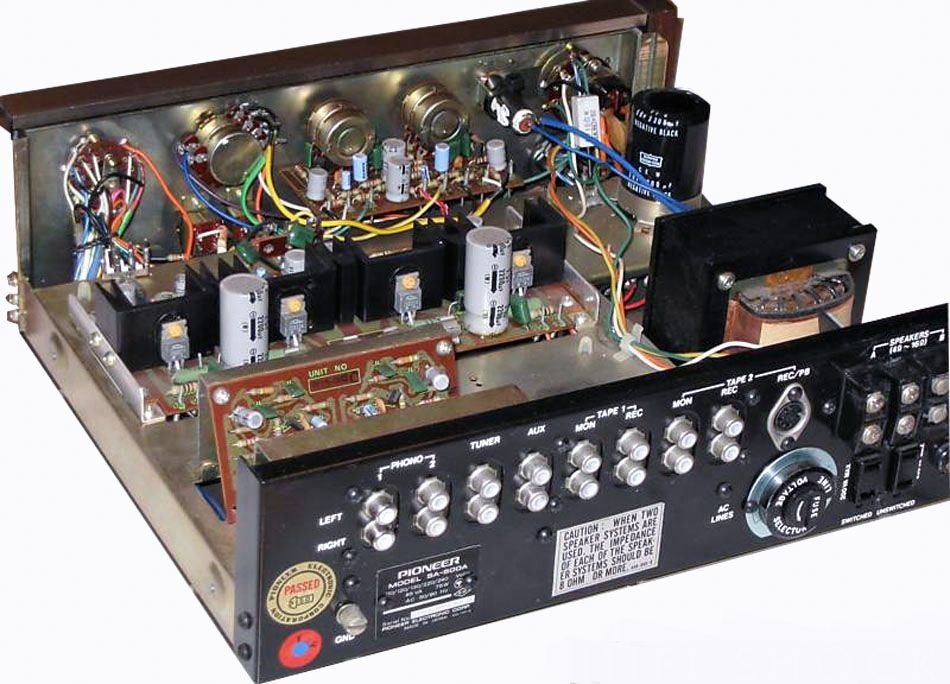 Inserire DAC all'interno di un Pioneer SA500a Sa-500a-1b-pioneer