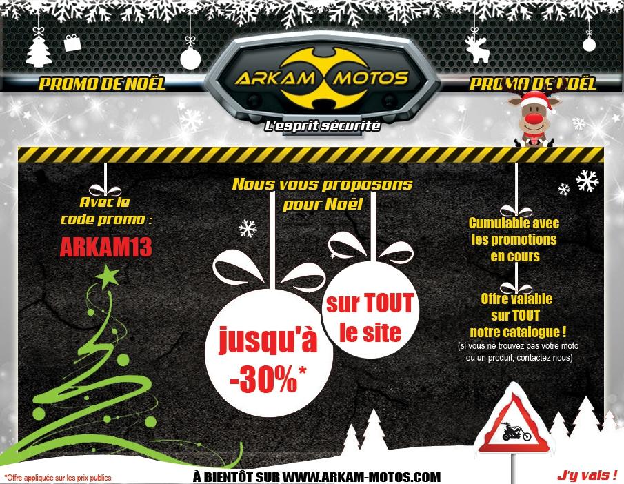Offre de Noël ARKAM MOTOS ! NEWSLETTER_NOEL_20130