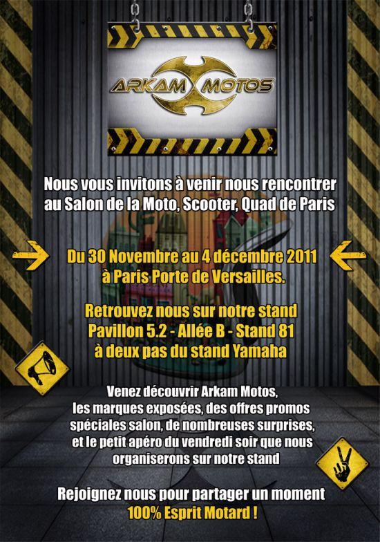 ARKAM MOTOS au Salon de la Moto de Paris 2011 ! Crbst_Newsletter_Mondial_1