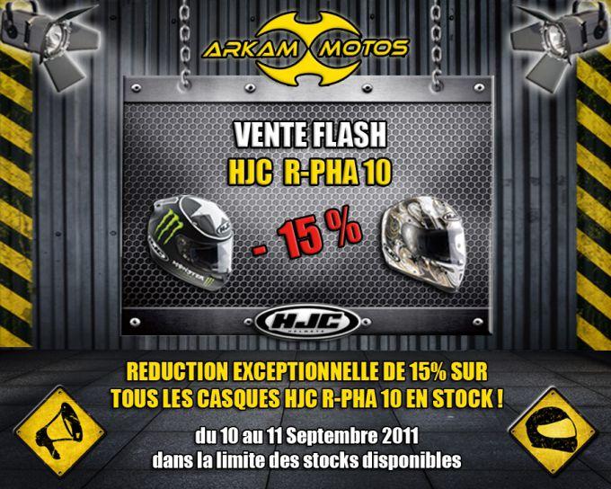 [VENTE FLASH] Casques HJC R-PHA 10 à -15% chez Arkam Motos ! Crbst_flash_HJC
