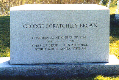 Militaire: George Scratchley Brown (général) (-1978) Gsbrown2