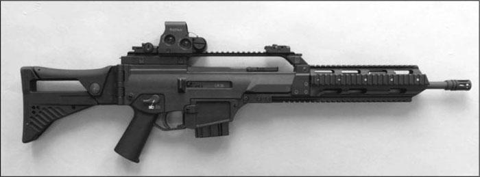 G36 versión civil Rifle_HK243_