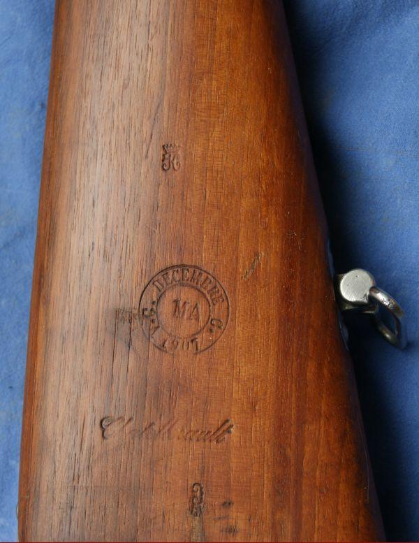 Fusil Mle 1886 M93, MAS 1890 Grande_002-001