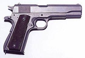 L'U.E. fixe la neutralisation des armes à feu au 8 avril 2016 Colt_1911-438e8