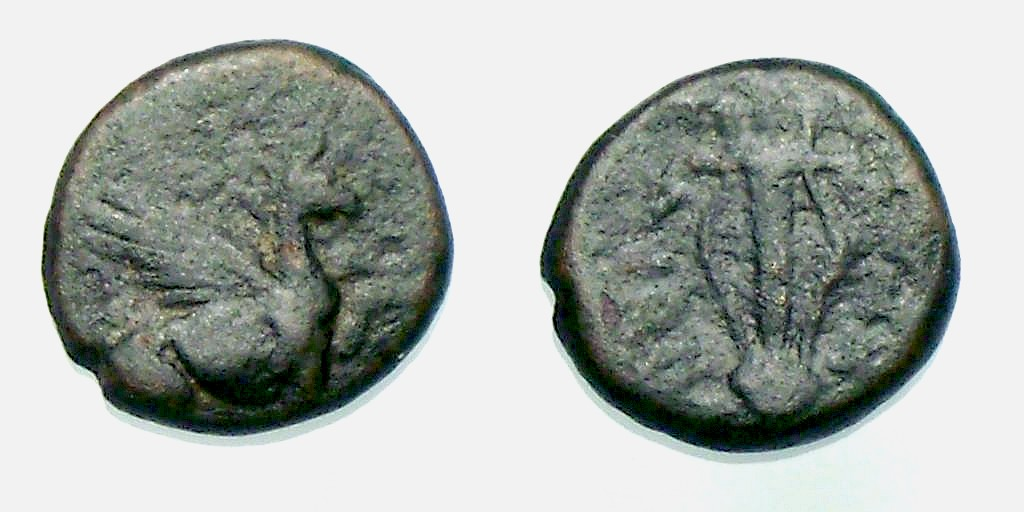Bronce de Teos/Ionia - desconocido ? 385