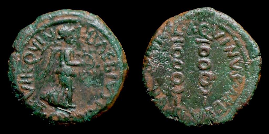 Semis Hispanorromano de CARTAGONOVA bajo Augusto 671