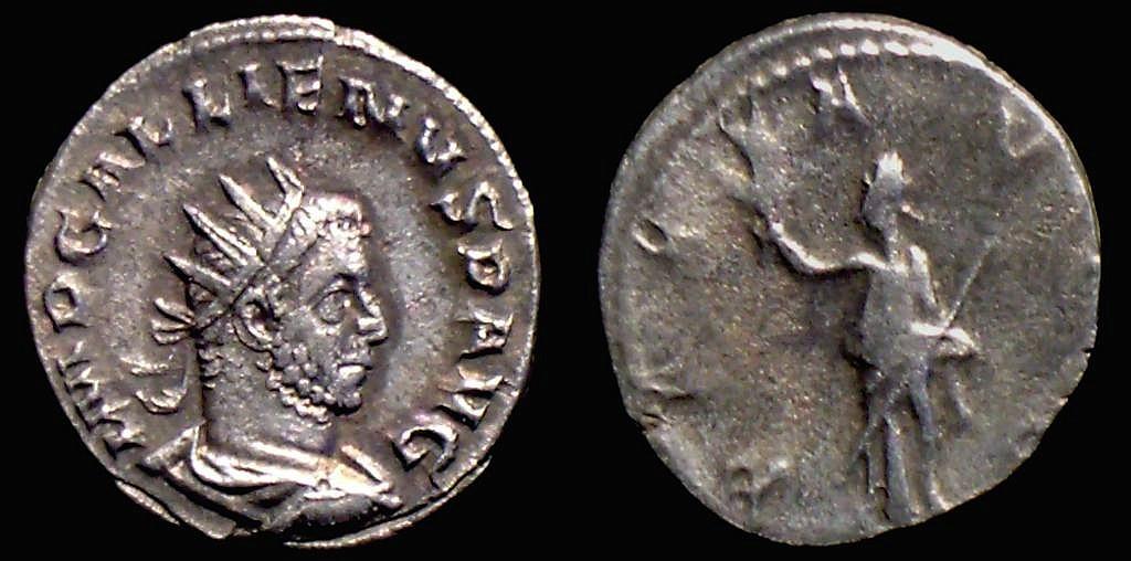 Gallien, Pax -  hôtel des monnaies? GalPaxGG