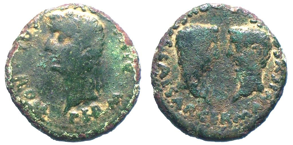 As Hispanorromano Colonia Romula bajo Tiberio RPCI-74
