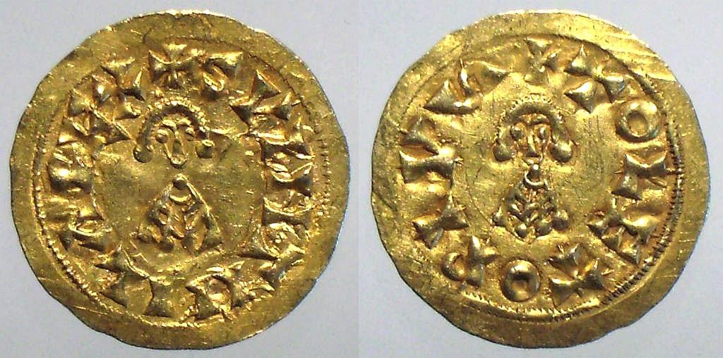Suintila , rey de los visigodos 621 - 631 NSvint