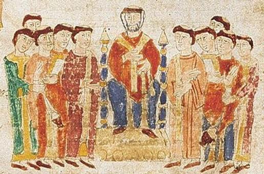 Fra Cipolla e la penna dell'Arcangelo Gabriele 6.vescovo